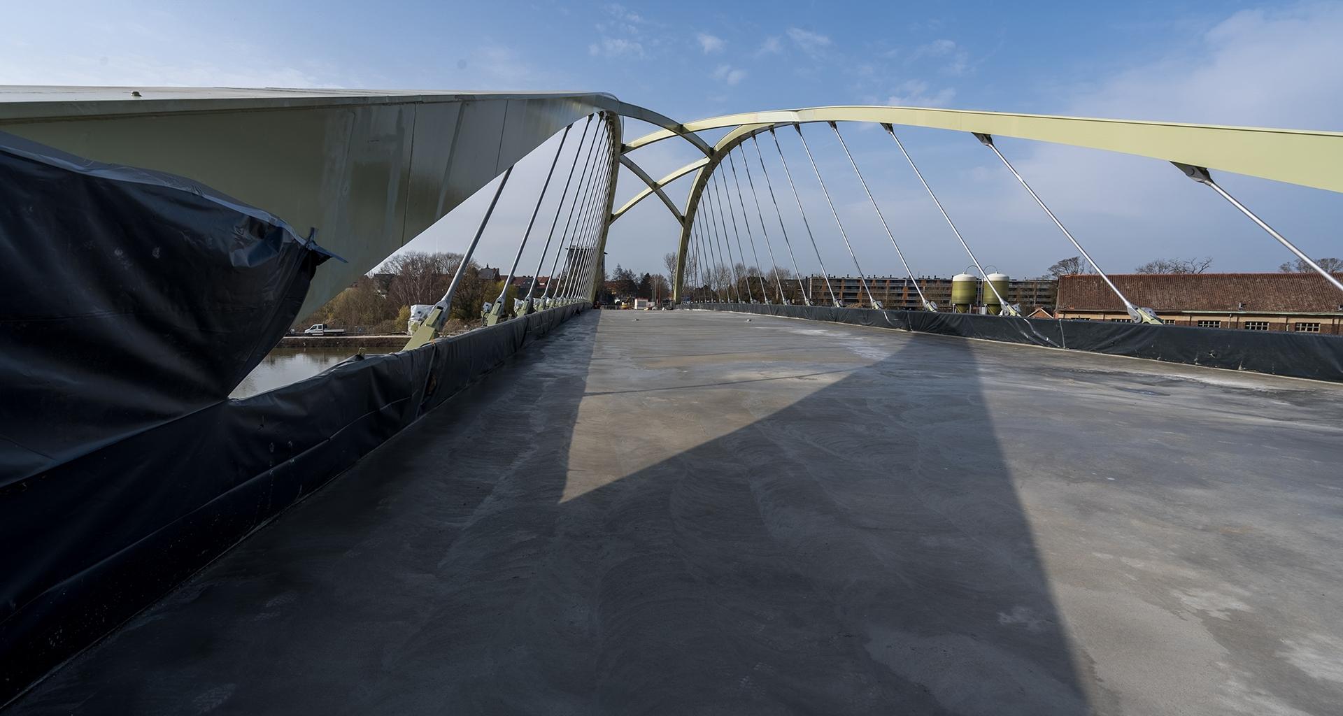 Construction de pont - coffrage et béton
