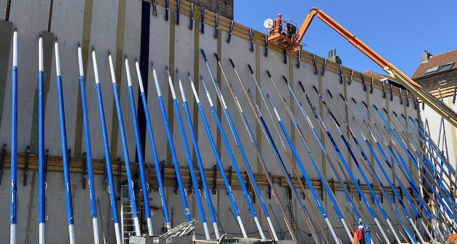 Nouvelle construction Salle du Sport Bruxelles
