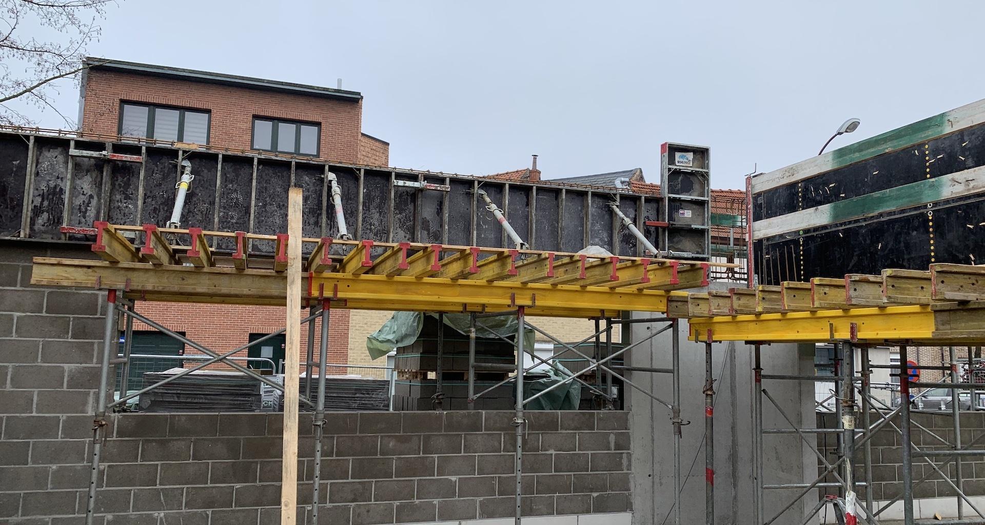 Construction école Vilvoorde